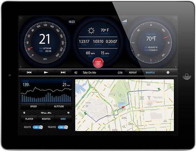 Навигационное приложение для iPad