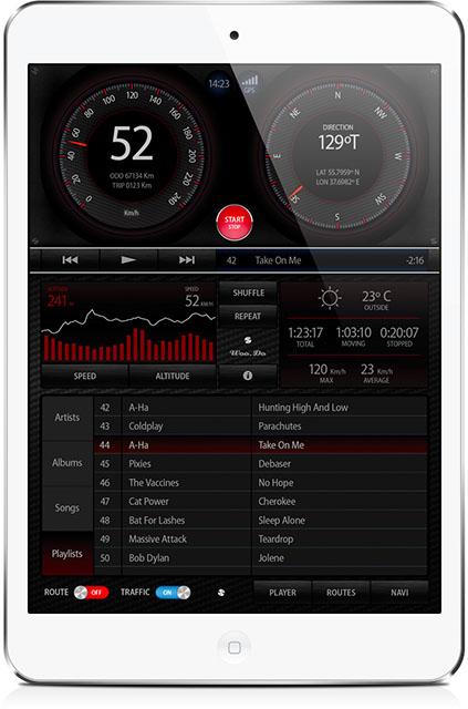 Навигационное приложение для iPod touch