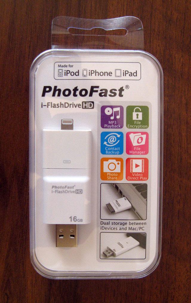 Флеш-накопитель для iPhone