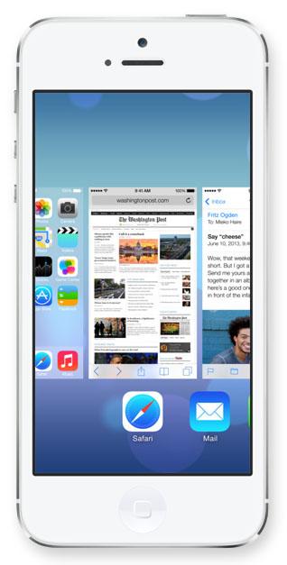 Ограничения мультизадачности в iOS 7