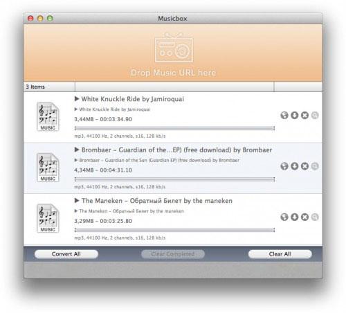 Загрузчик музыки для Mac