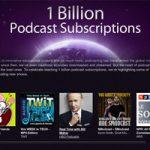 Новое достижение iTunes. Количество подписчиков на подкасты достигло 1 миллиарда
