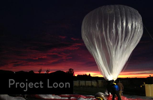 Воздушные шары с интернетом