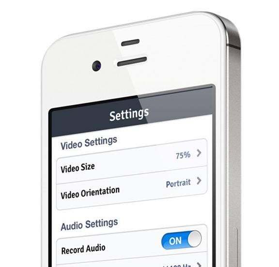 Как записать видео происходящего на экране iPhone