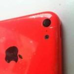 Впервые на экране: Передняя панель от красного iPhone 5C