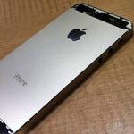 Еще несколько фотографий «золотого» iPhone 5S