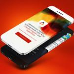 Концепт iPhone с дисплеем «вокруг корпуса»