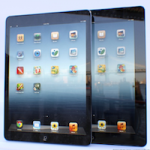 Фотографии подлинной передней панели iPad 5