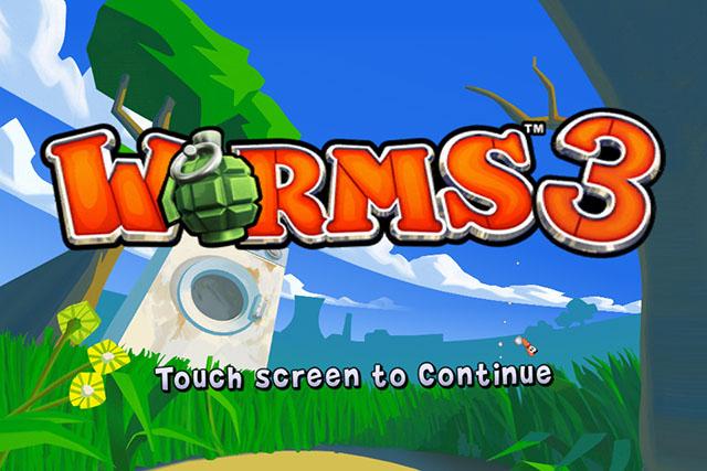 Worms 3 для iPhone