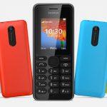 Nokia 108 — новая «звонилка» по доступной цене