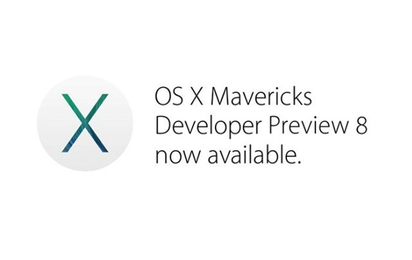 OS X Mavericks Developer Preview 8