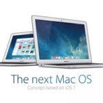 Американский дизайнер представил концепт OS X в стиле iOS 7