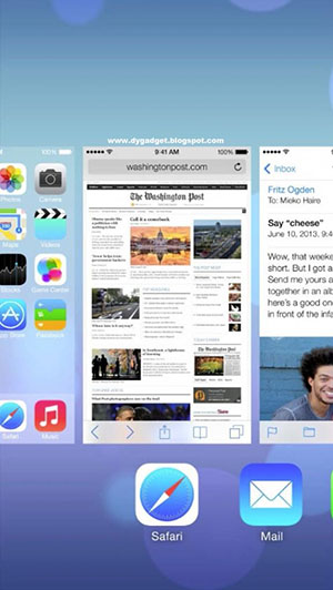 Закрытие неиспользуемых приложений в iOS 7