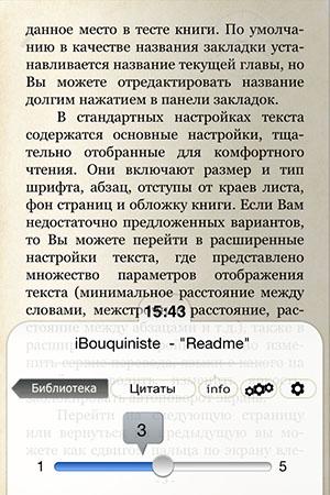 Удобная читалка для iPod touch