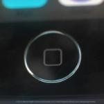 Рендеры кнопки Home iPhone 5S со сканером отпечатков