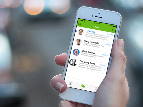 WhatsApp для iOS 7