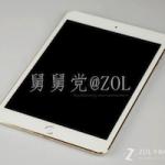 Фотографии «золотого» iPad mini 2 с Touch ID