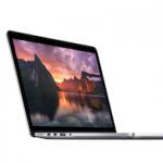 Apple представила новые MacBook Pro Retina 13 и 15 дюймов