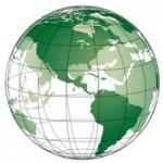 Самые популярные сайты нанесены на карту мира