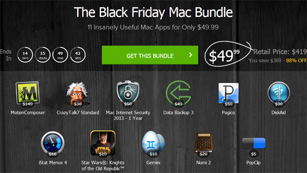 The Black Friday Mac Bundle
