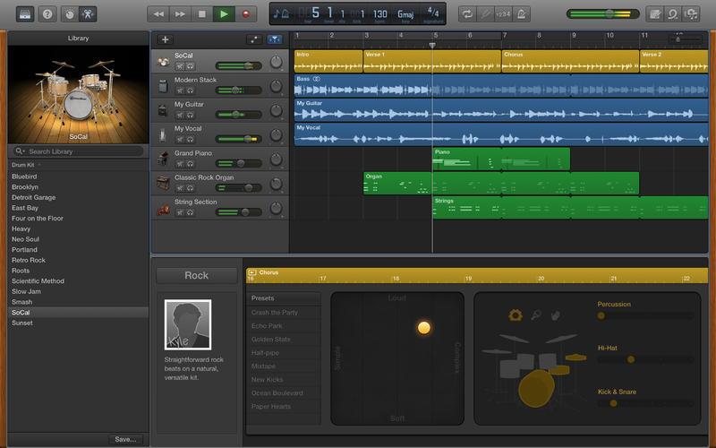 GarageBand для OS X