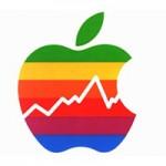 Акции Apple немного выросли в цене