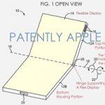 Новый патент Apple. Мобильные устройства со складными экранами
