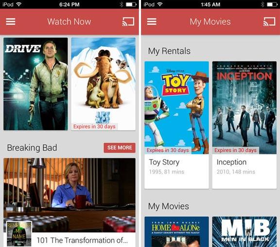 Google Play Фильмы и ТВ