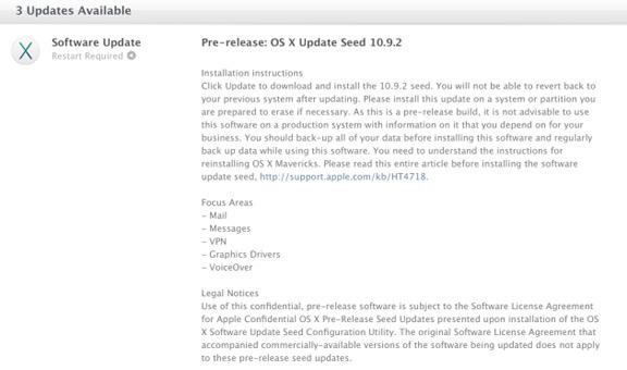 OS X Mavericks 10.9.2 beta 2