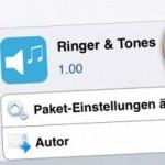 Ringer & Tones — твик, добавлющий новые настройки звука