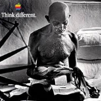 appleThink-gandhi