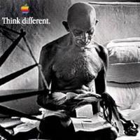 appleThink-gandhi