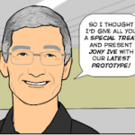 Комикс об iPhone с большим дисплеем