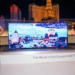 На CES-2014 представлены первые гибкие телевизоры от Samsung и LG
