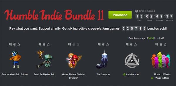 Humble Indie Bundle 11