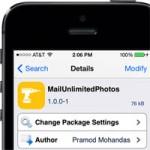 Твик MailUnlimitedPhotos позволяет отправлять по почте больше 5 фото за раз