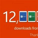 Первые успехи Microsoft Office для iPad. 12 миллионов загрузок за неделю
