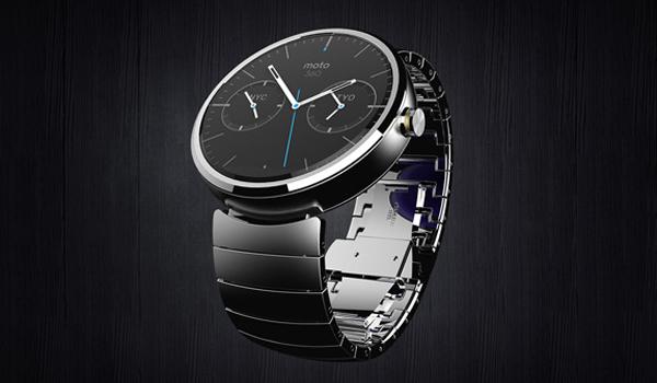 «Умные» часы от Motorola