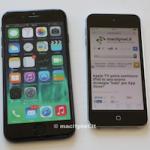 Как выглядит iPhone 6 в сравнении с iPod touch 5