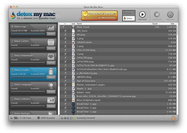 Detox My Mac