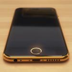 Концепт золотого iPhone 6 с бриллиантами