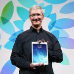 Глава Apple не видит проблемы в снижении объемов продаж iPad