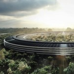 Новое видео о ходе строительства Apple Campus 2
