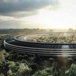 Новое видео с места строительства Apple Campus 2