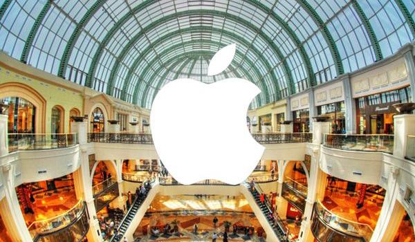 Apple начинает готовиться к праздникам. Мелкие изменения в магазинах
