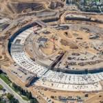 Стоительство Apple Campus 2 продолжается. Новое видео со стройплощадки