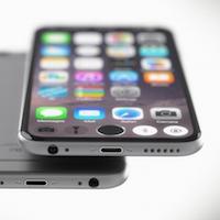 Концепт iPhone 7 с экраном на всю переднюю панель