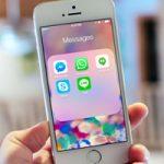 В топ бесплатных приложения для iPhone в России выбились сразу несколько мессенджеров