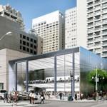 Apple запатентовала конструкцию своего нового магазина в Сан-Франциско
