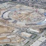 Новое фото со стройплощадки Apple Campus 2